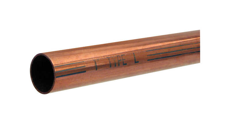 Mueller  1/2 in. Dia. x 5 ft. L Type L  Copper Water Tube