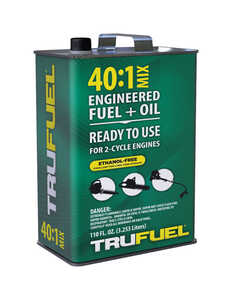 TruFuel  40:1  2 Cycle Engine  Premixed Gas and Oil  110 oz.