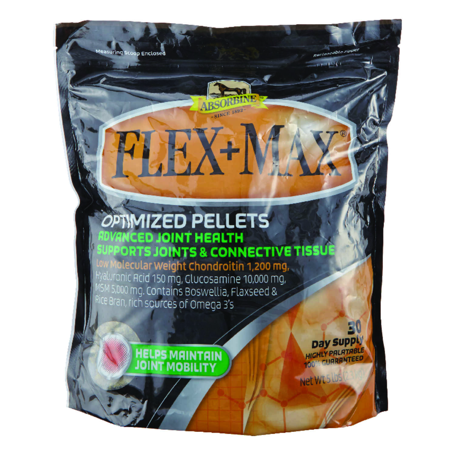 Flex+Max  Solid  Joint Supplement  For Horse 80 oz.