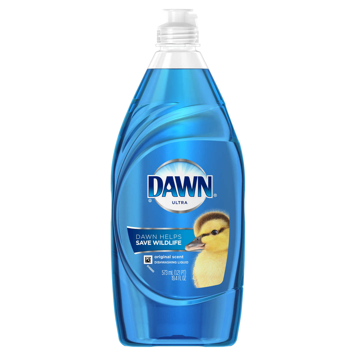 Dawn  Ultra  Original Scent Liquid  Dish Soap  19.4 oz.