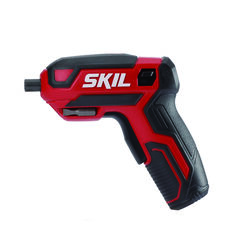 Skil  1/4 in. Cordless  Rechargeable Screwdriver  Kit  4 volt 220 rpm