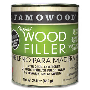 Famowood  Oak/Teak  Wood Filler  23 oz.