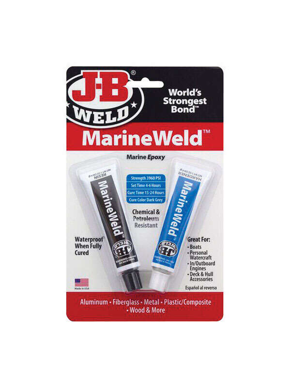 J-B Weld  Marine Weld  High Strength  Paste  Epoxy  2 oz. 1