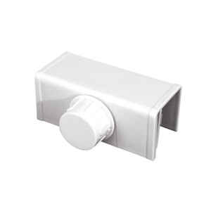 ChildSafe  White  Plastic  Bi Fold Door Locks  1 pk