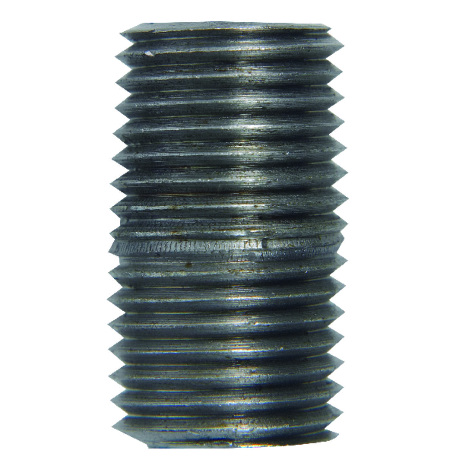 B & K  Southland  2-1/2 in. MPT   x 2-1/2 in. Dia. x 2-1/2 in. L MPT  Galvanized  Steel  Pipe Nipple