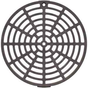 Sioux Chief  6-1/8 in. Natural  PVC  Round  Floor Drain Replacement Strainer