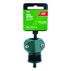 Ace 5/8 & 3/4 in. Nylon/ABS Threaded Male Hose Mender Clamp