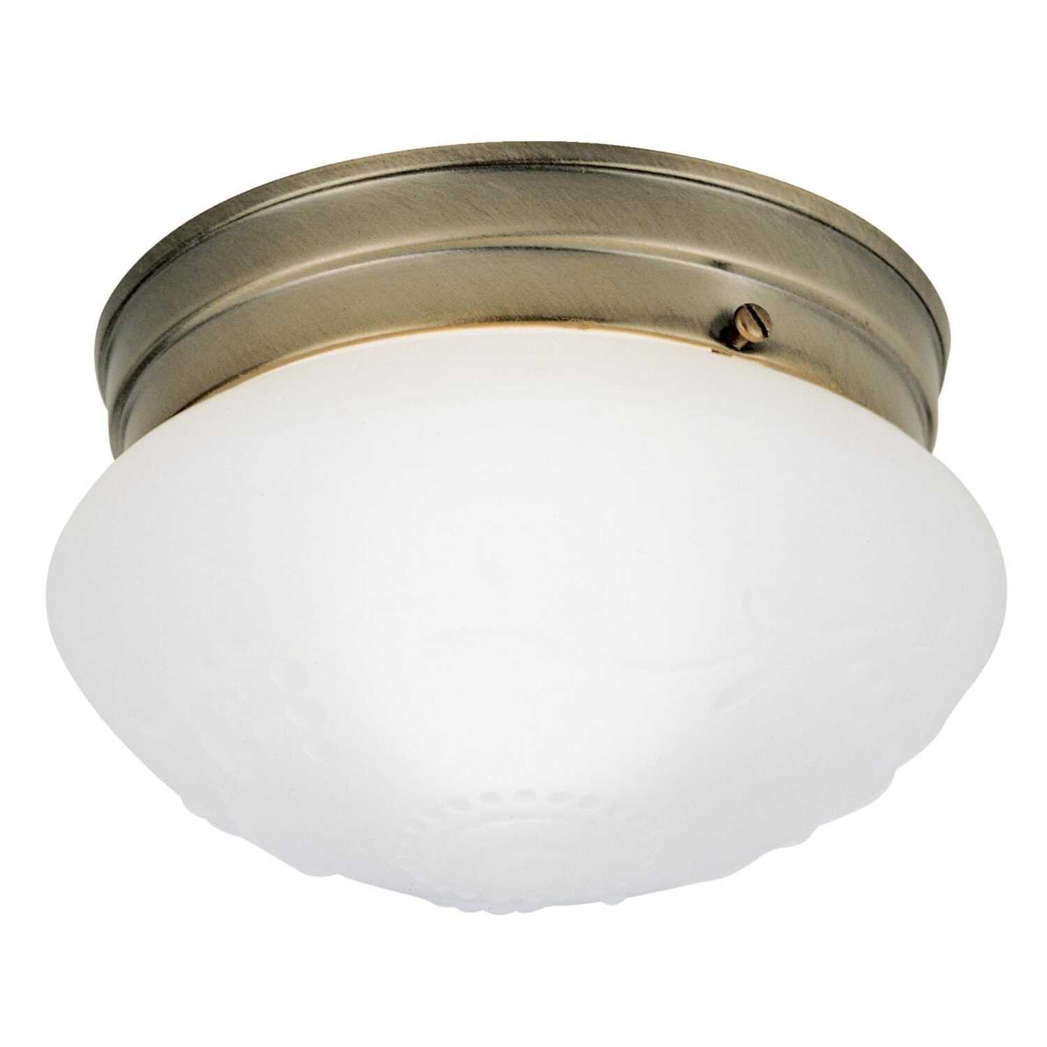 Westinghouse  4-1/2 in. H x 7.5 in. L x 7-1/2 in. W Ceiling Light