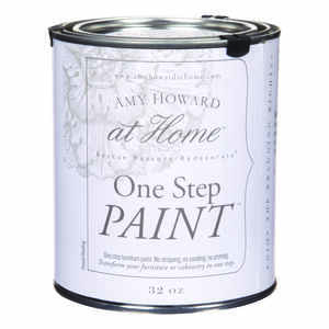Amy Howard at Home  Flat Chalky Finish  Luxe Grey  Latex  One Step Paint  32 oz.