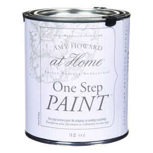 Amy Howard at Home  Flat Chalky Finish  Latex  One Step Paint  32 oz. Luxe Grey
