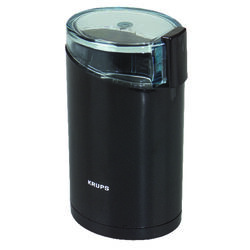Krups  Black  Stainless Steel  3 oz. Coffee Grinder
