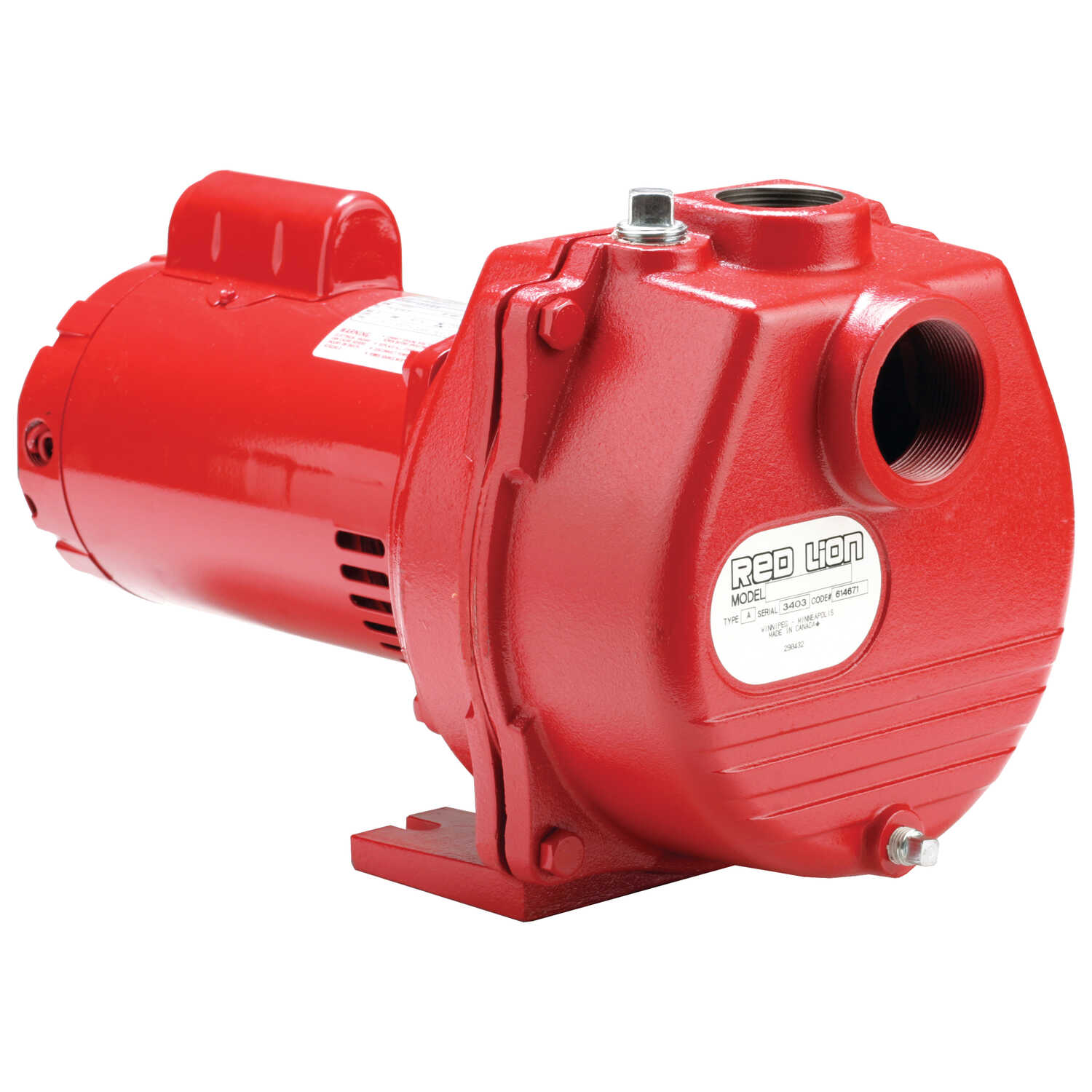 Red Lion  2 hp 77 GPM  Cast Iron  Sprinkler Pump