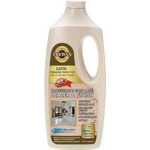 Trewax  Gold Label  Satin  Sealer Wax  32 oz.