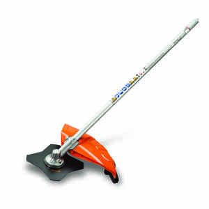STIHL  KombiSystem FS-KM  Brushcutter with 4-Tooth Grass Blade Attachment