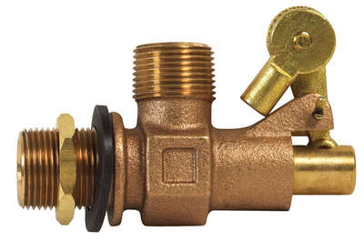 BK Products ProLine 3/4 in. Dia. Bronze Float Valve
