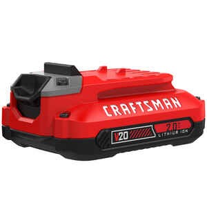 Craftsman  20V MAX  2 Ah Lithium-Ion  Battery Pack  20 volt 1 pc.