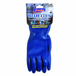 Spontex  Neoprene  Gloves  S  1 pk Blue