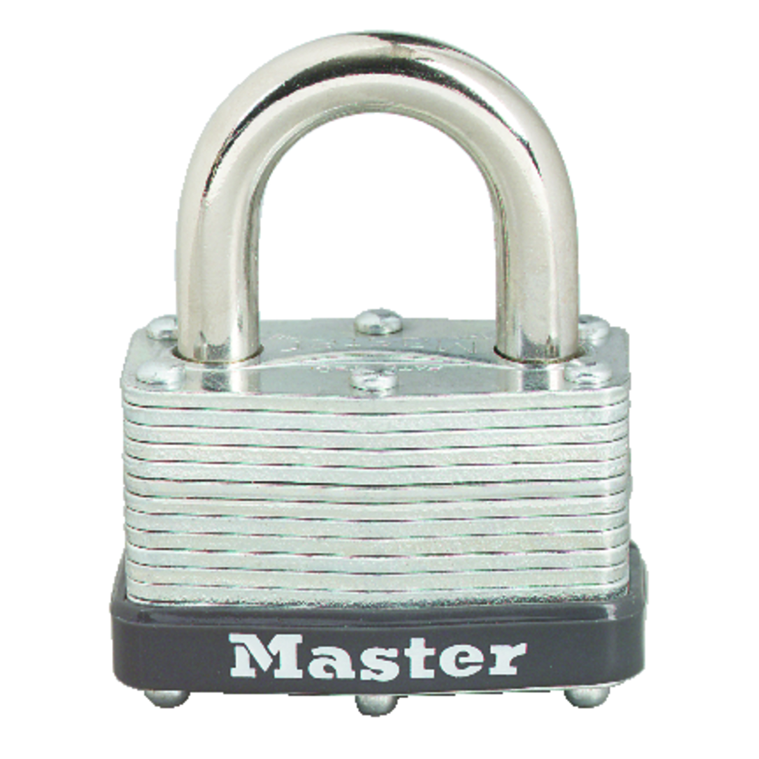 Master Lock  1-1/16 in. H x 1 in. W Warded Locking  Laminated Steel  Padlock  1 each