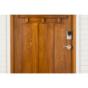 Array By Hampton  ARRAY Barrington  Satin Nickel  Zinc  Electronic Deadbolt