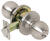 Tell  Cortland  Satin Chrome  Entry Lockset  ANSI Grade 2  1-3/4 in.