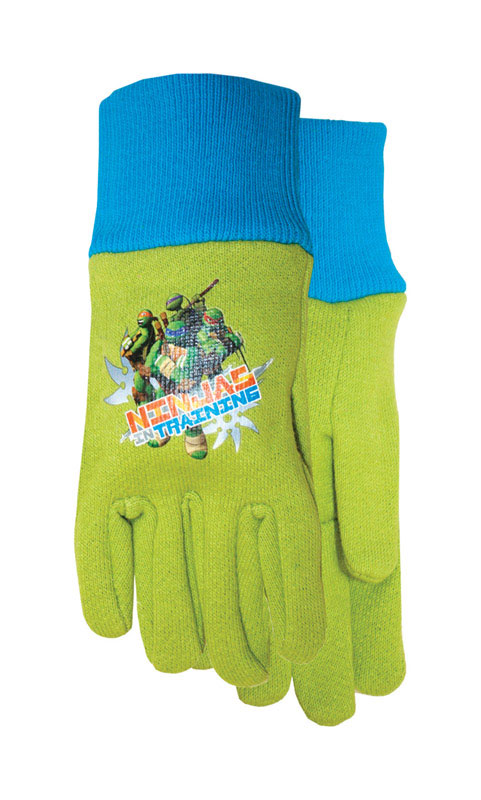 Midwest  Youth  Gloves  Green  Ninja Turtle