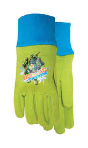 Midwest  Ninja Turtle  Youth  Jersey Cotton  Garden  Green  Gloves