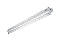 Metalux SNF 48 in. L White Hardwired Fluorescent Strip Light