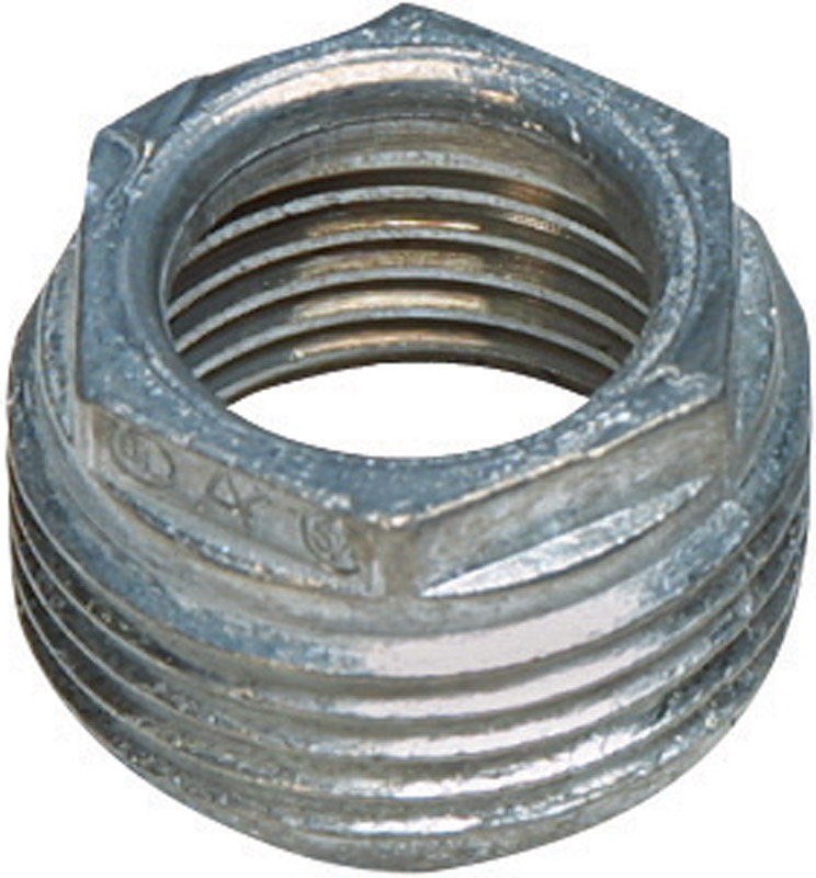Sigma Reducing Bushing Rigid Threaded 3/4 in. to 1/2 in. UL/CSA Used to Reduce the Entry Size of Th