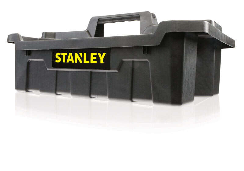 Stanley  7 in. H x 13 in. W Impact-Resistant Poly  Tool Caddy  19 in. Black