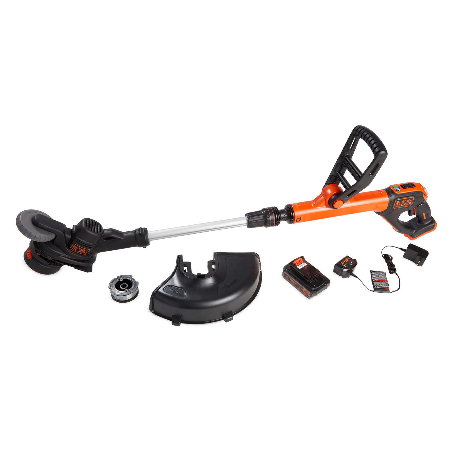 Black and Decker 12 in. 20 volt Battery String Trimmer Kit (Battery & Charger)