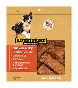 Savory Prime  Chicken Jerky  Dog  Grain Free Treats  1 each 12 oz.