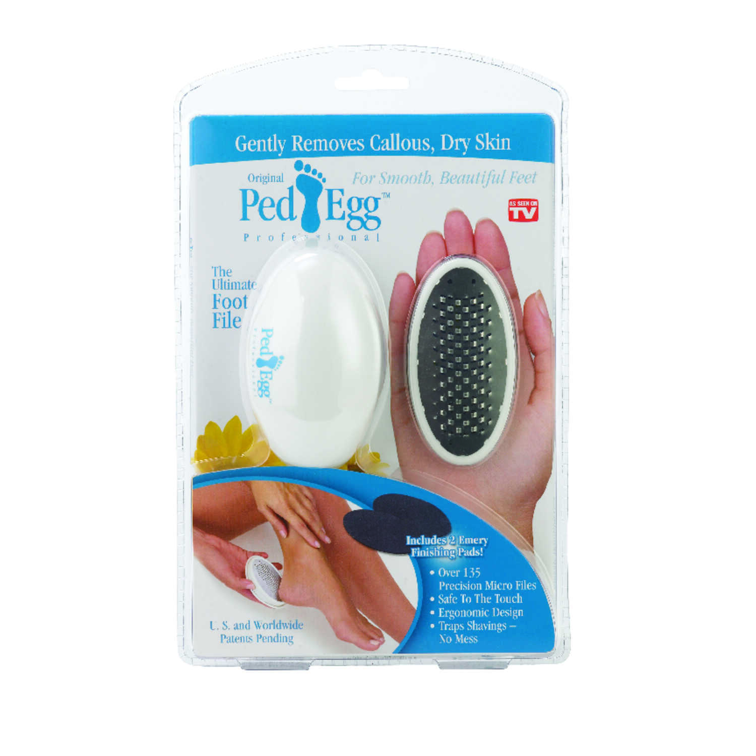 Ped Egg  As Seen On TV  Foot File  1 pk