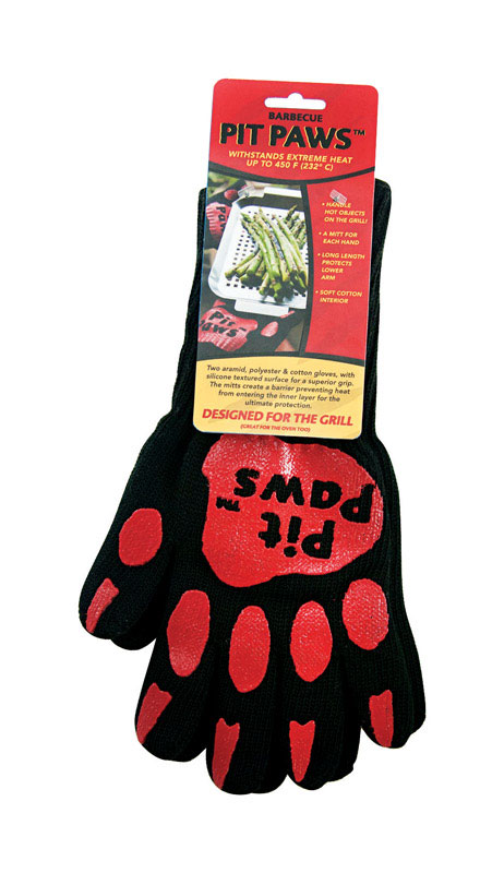 Charcoal Companion  Pit Paws  Cotton  Grilling Mitt