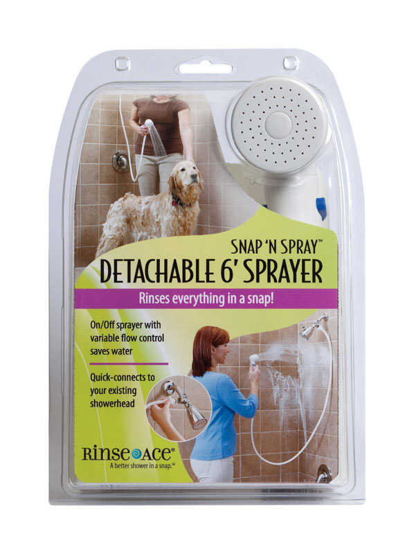 Rinse Ace  Snap N Spray  Shower Hose
