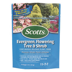 Scotts  Evergreen, Flowering Tree & Shrub  Granules  Plant Food  3 lb.