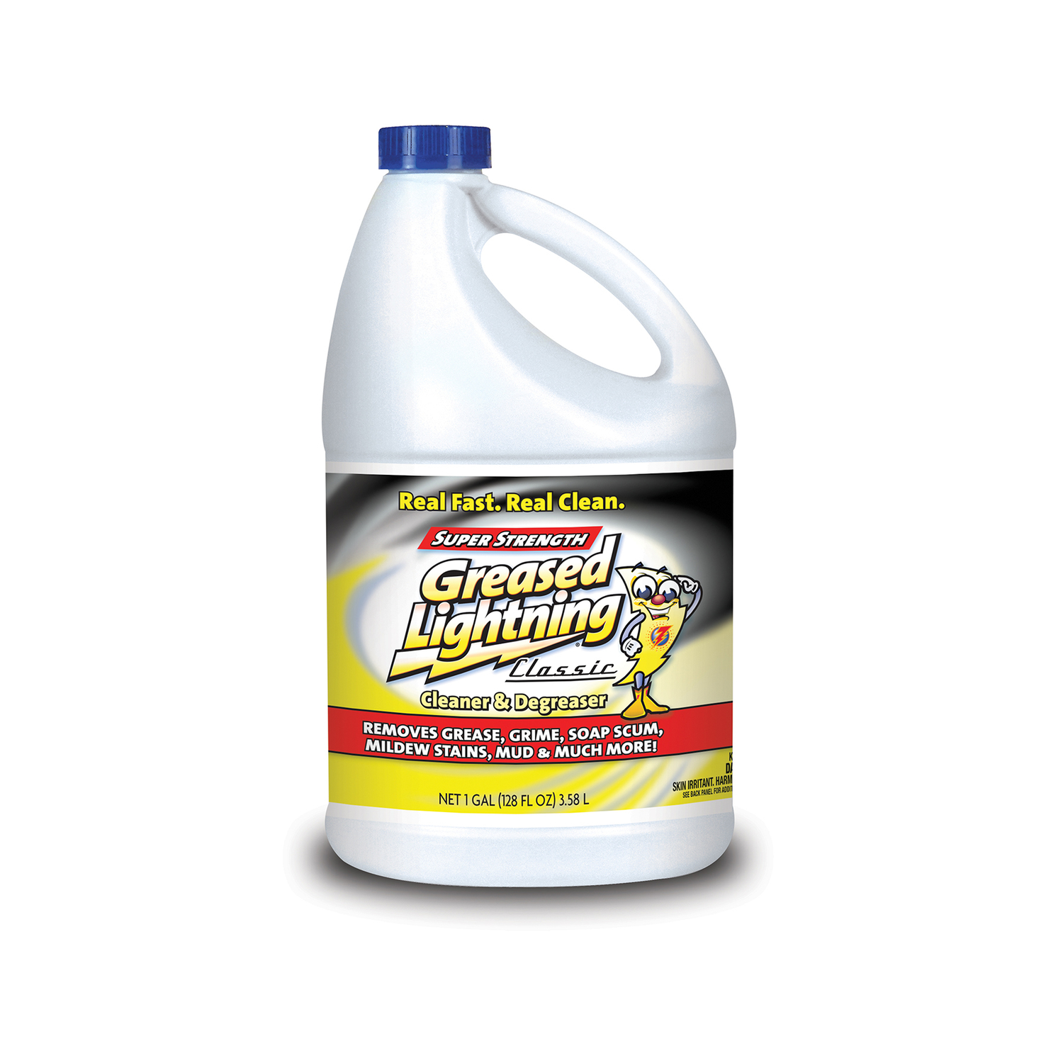 Greased Lightning Fresh Scent Cleaner and Degreaser 1 gal. Liquid ...
