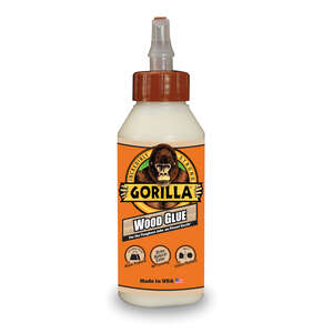 Gorilla  Natural Wood  Wood Glue  8 oz.