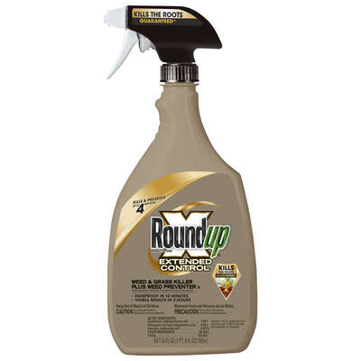 Roundup Grass & Weed Killer RTU Liquid 24 oz.
