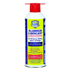 L.C. Wax Aluminum Lubricant and Liquid Masking 12 oz.