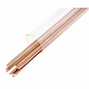 Forney  1/8 in. Dia. x 18 in. L Copper  Welding Rods  40000 psi 1 pk