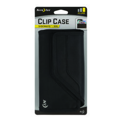 Nite Ize Clip Case Sideways Black This protective phone holster combines the ultra-durable materi