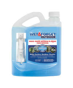 Wet and Forget  Outdoor  Mold and Mildew Stain Remover  64 oz.