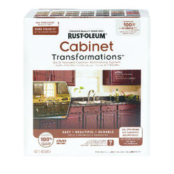 Rust-Oleum  Cabinet Transformations  White  Tint Base  Cabinet Refinishing System  Indoor  137 oz.