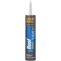 Liquid Nails Tough Repair Black Latex Caulk Sealant 10.3 oz.
