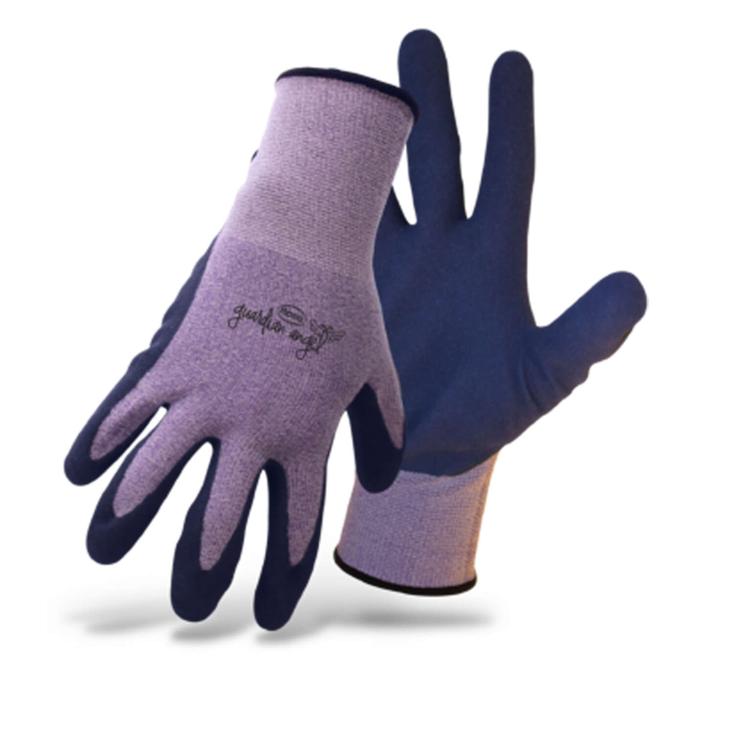 Boss  Guardian Angel  Women's  Outdoor  Knit Stretch  Gardening Gloves  Purple  One Size Fits Most