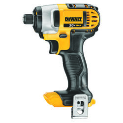 DeWalt 20V MAX 20 volt 1/4 in. Cordless Brushed Impact Driver Tool Only