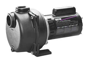 Wayne  Cast Iron  Sprinkler Pump  2 hp 3400 gph