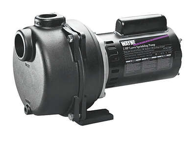 Wayne  2 hp 4200 gph Cast Iron  Sprinkler Pump