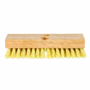 DQB  Acid  8 in. W Wood  Scrub Brush