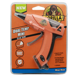 Gorilla  20 watt Dual Temperature  Mini Glue Gun